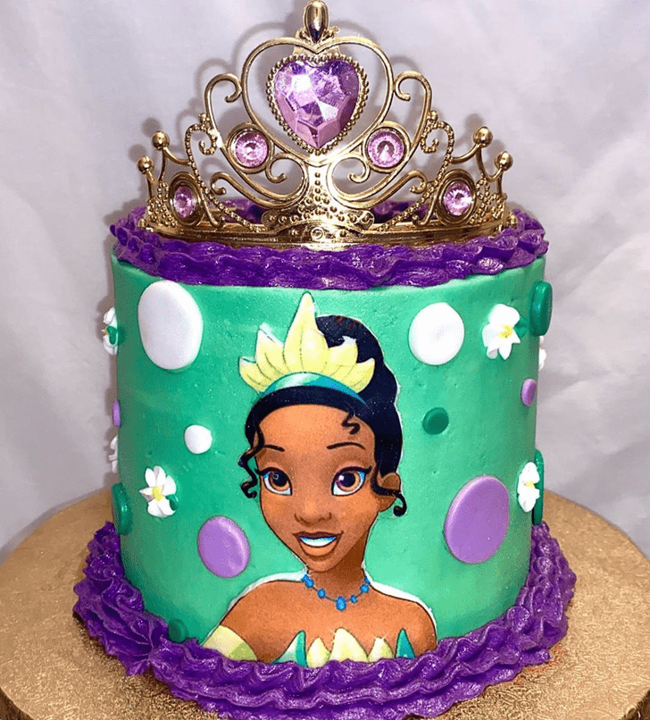 Resplendent The Princess and the Frog Cake