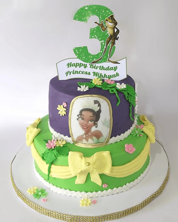 Splendid The Princess and the Frog Cake