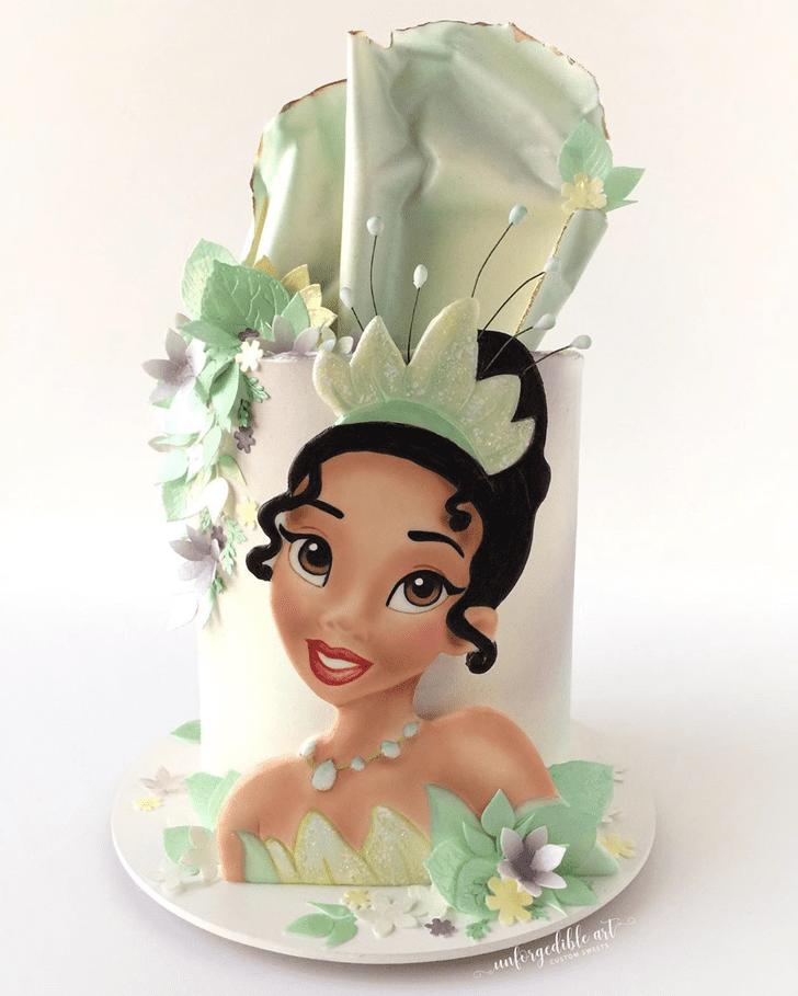 Stunning The Princess and the Frog Cake