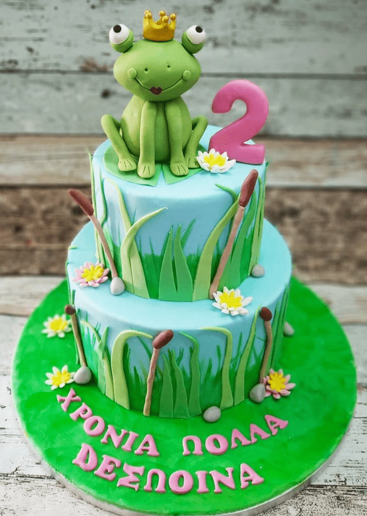 Wonderful The Princess and the Frog Cake Design