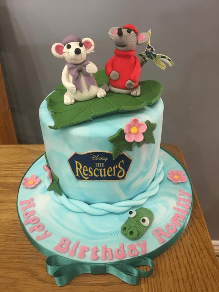 Admirable The Rescuers Cake Design