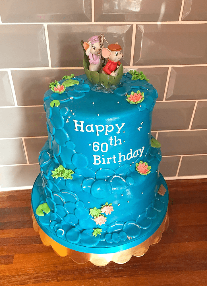 Adorable The Rescuers Cake