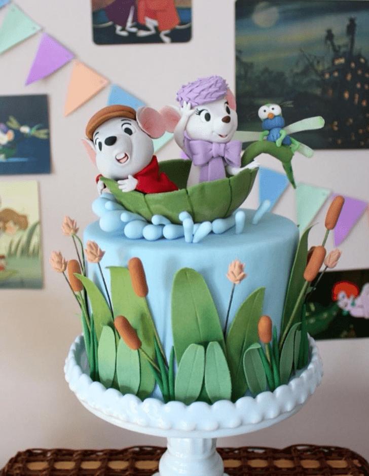 Angelic The Rescuers Cake