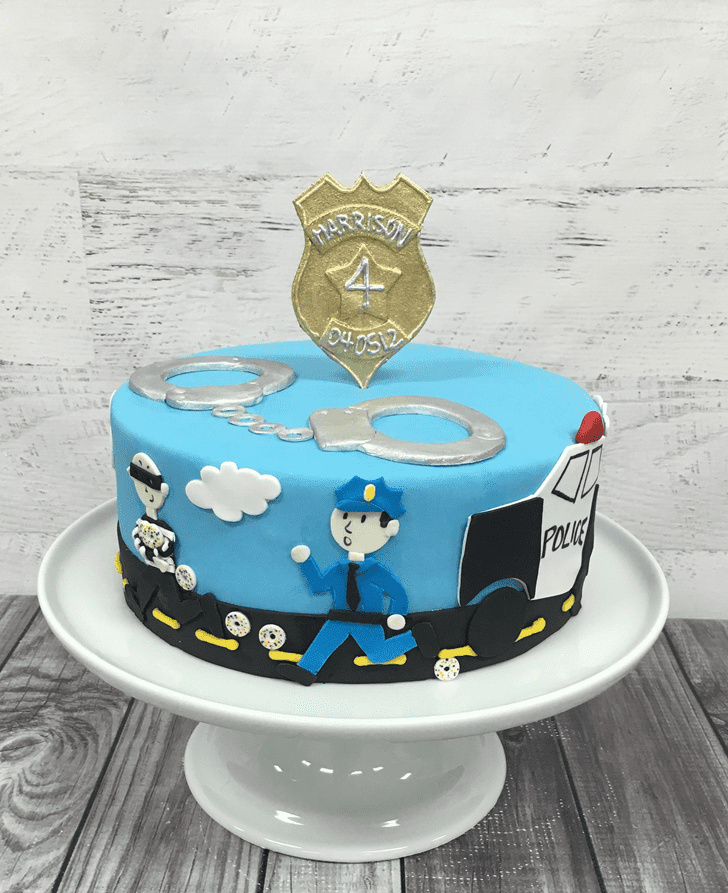 Adorable Thief Cake