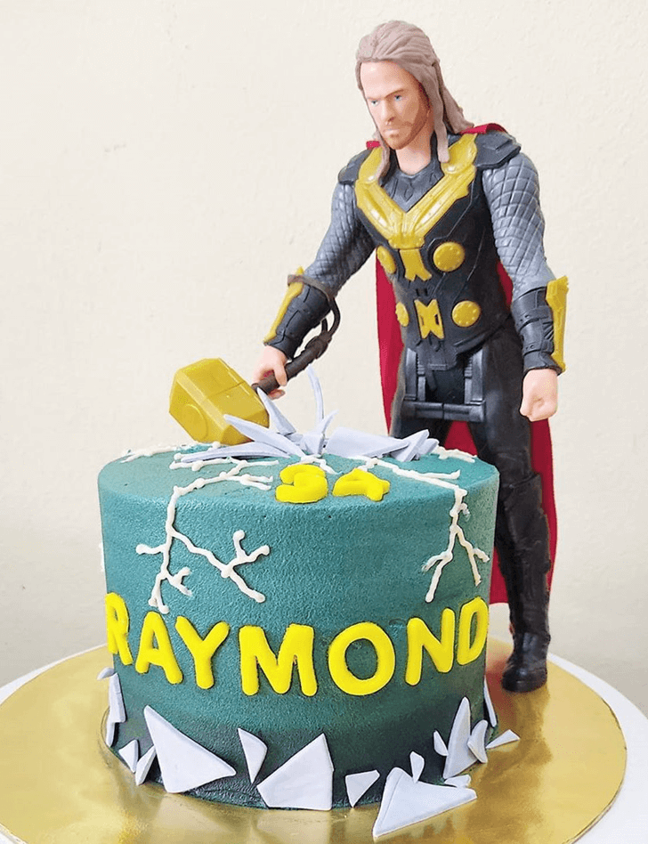 Admirable Thor Cake Design