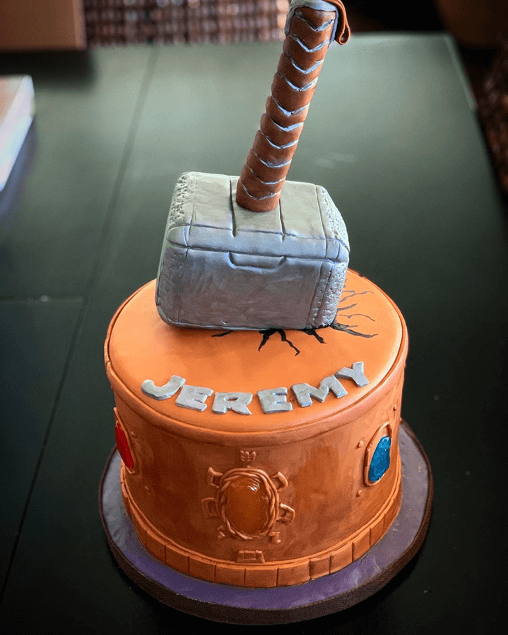 Captivating Thor Cake