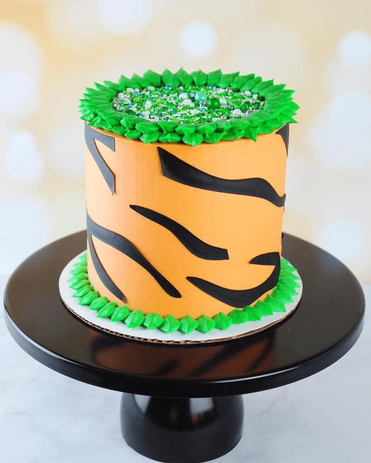 Bewitching Tiger Cake