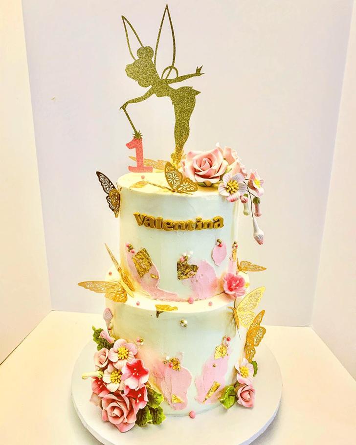 Admirable Tinker Bell Cake Design