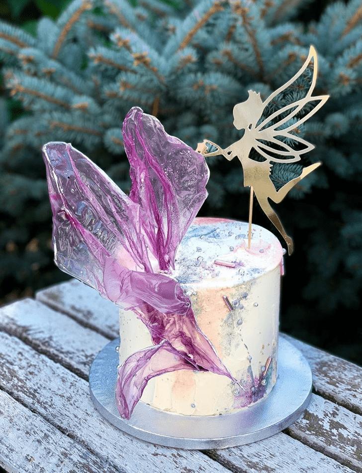 Beauteous Tinker Bell Cake