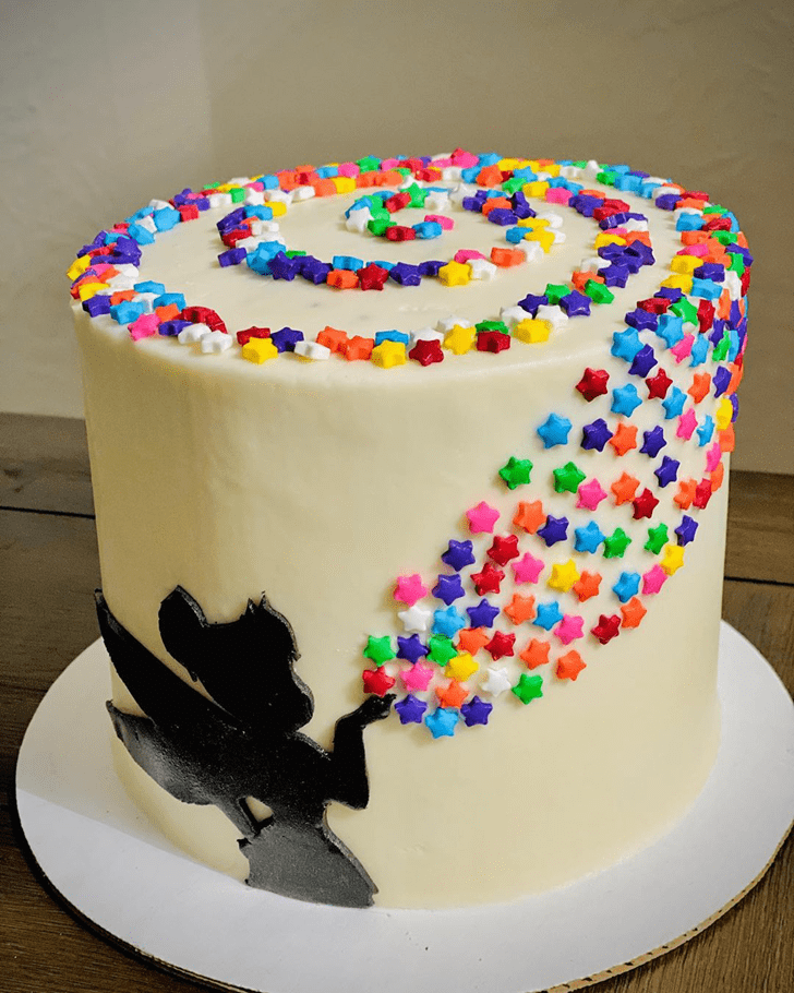 Bewitching Tinker Bell Cake