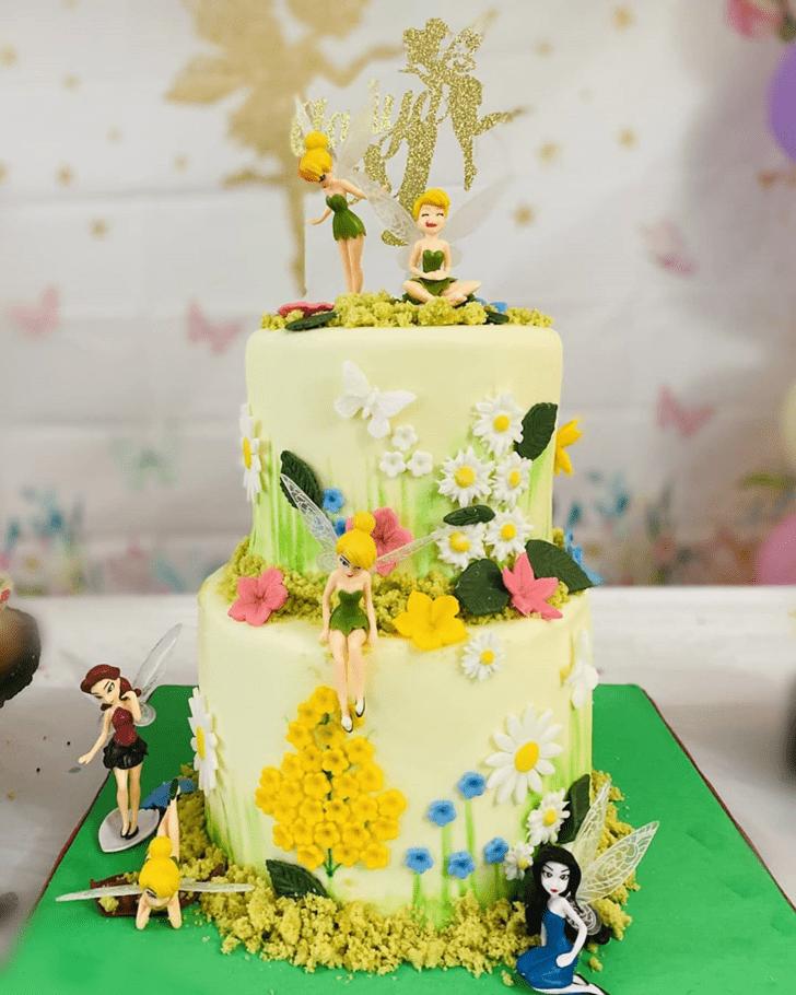 Captivating Tinker Bell Cake