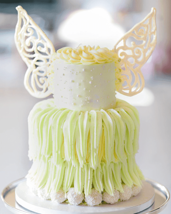 Adorable Tinkerbell Cake
