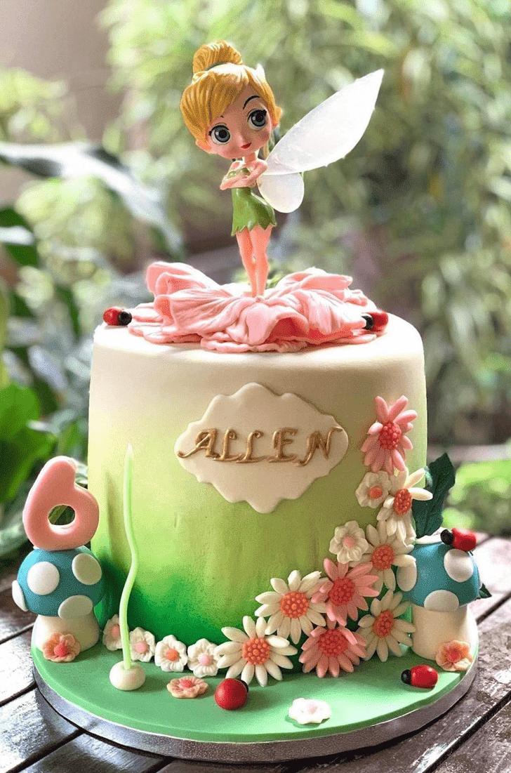 Alluring Tinkerbell Cake