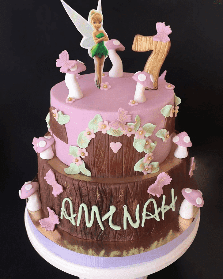 Appealing Tinkerbell Cake