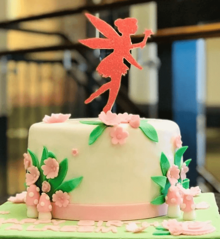 Beauteous Tinkerbell Cake
