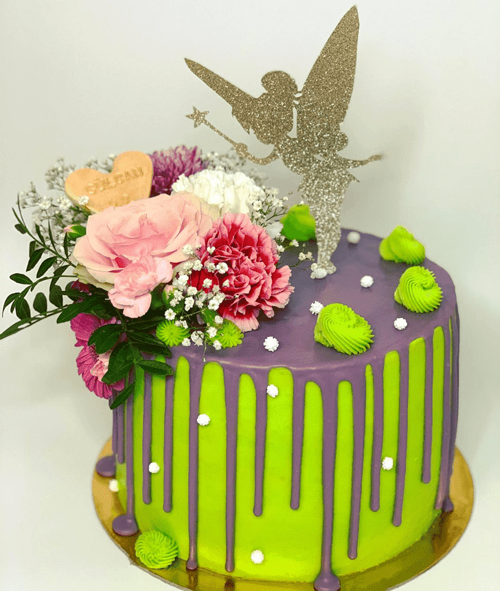 Captivating Tinkerbell Cake