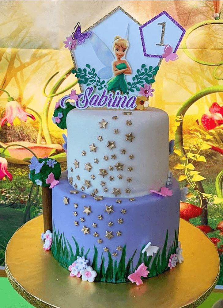 Charming Tinkerbell Cake