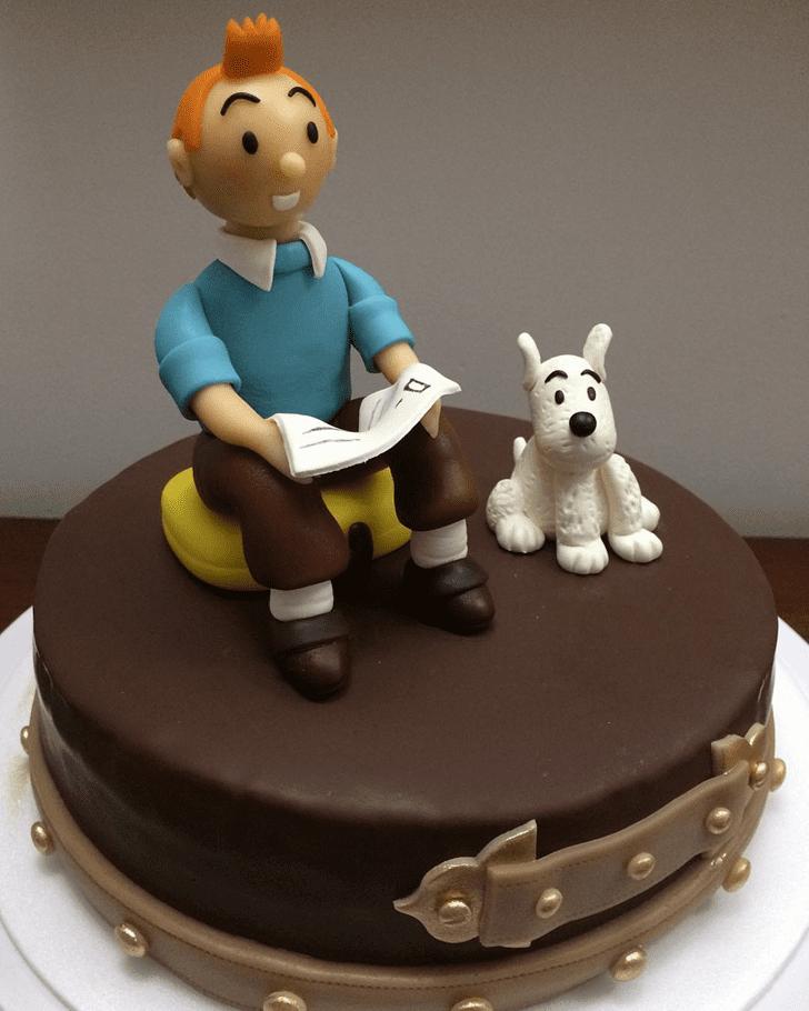 Adorable Tintin Cake