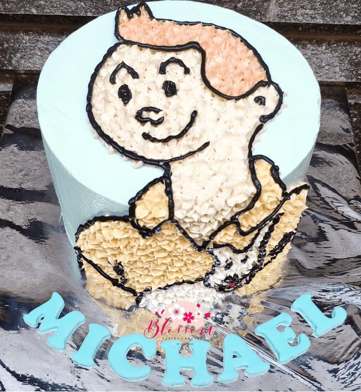 Bewitching Tintin Cake
