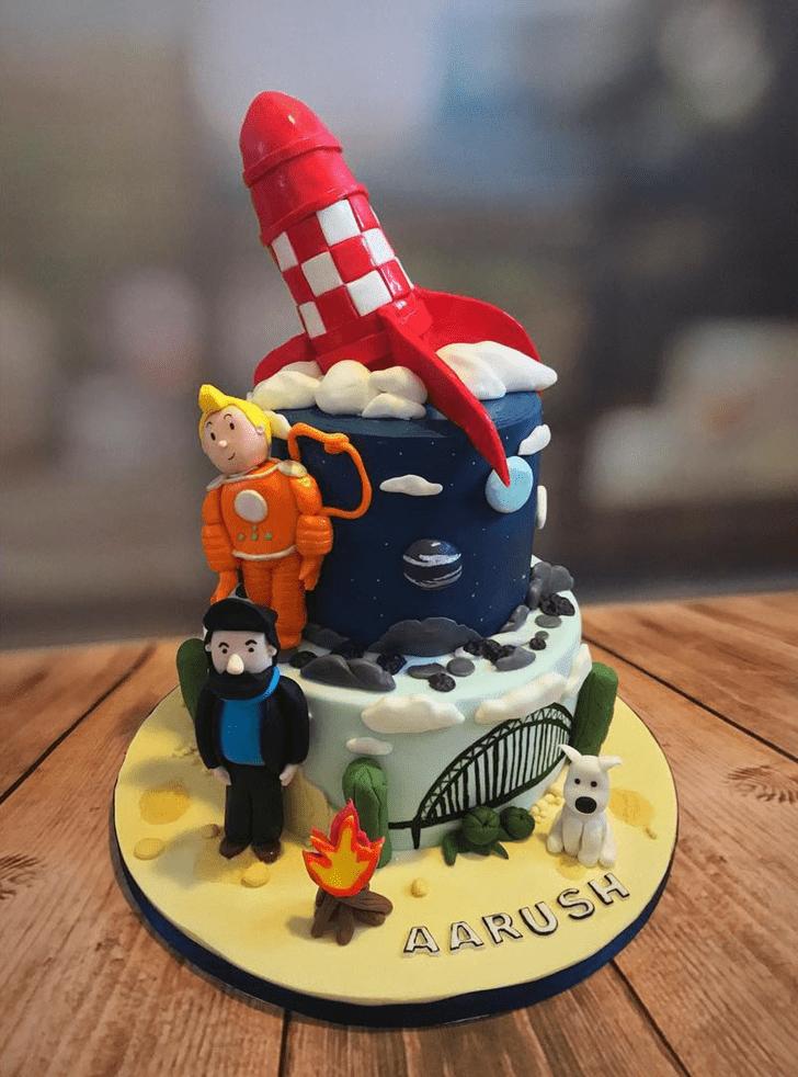 Classy Tintin Cake