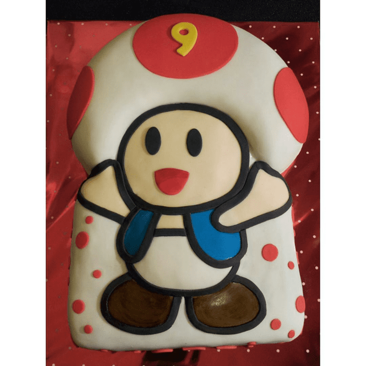 Admirable Toad Cake Design