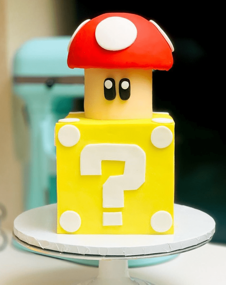 Appealing Toad Cake