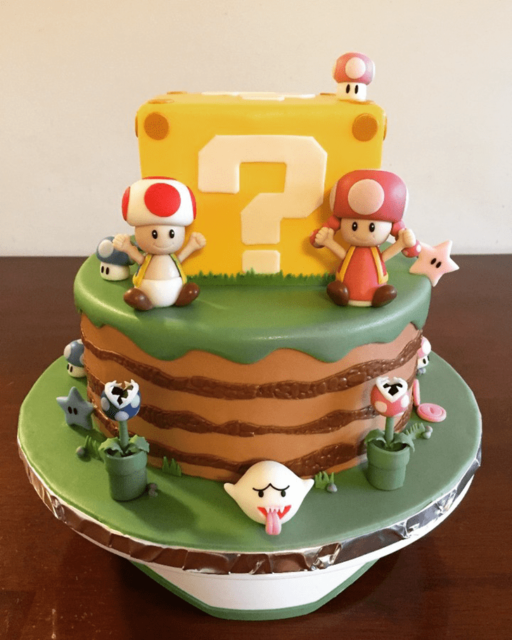 Captivating Toad Cake