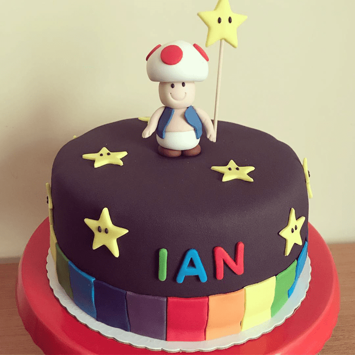 Classy Toad Cake