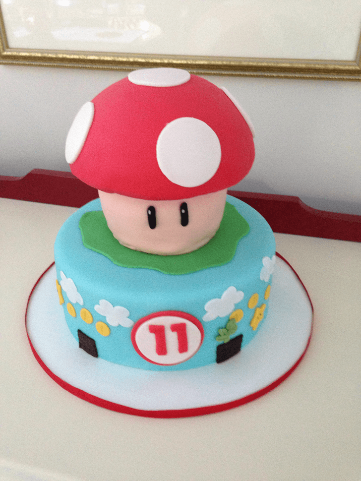 Comely Toad Cake