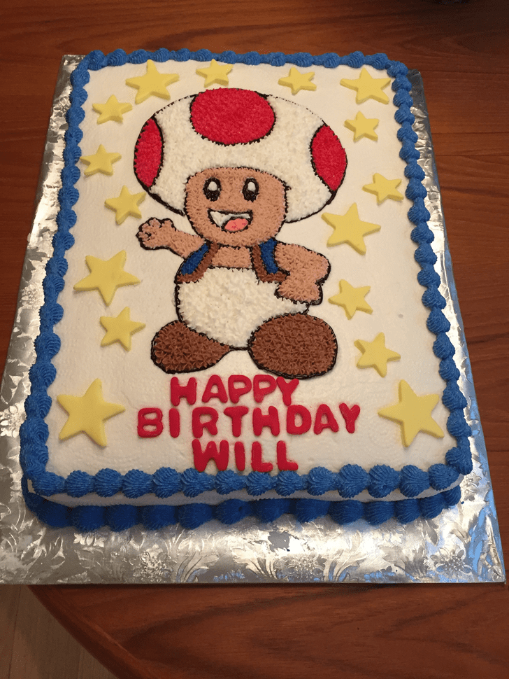 Dazzling Toad Cake