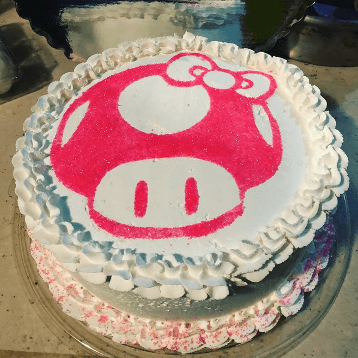Delicate Toad Cake