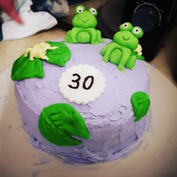 Delightful Toad Cake
