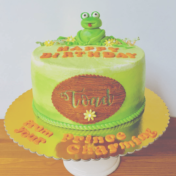 Enthralling Toad Cake