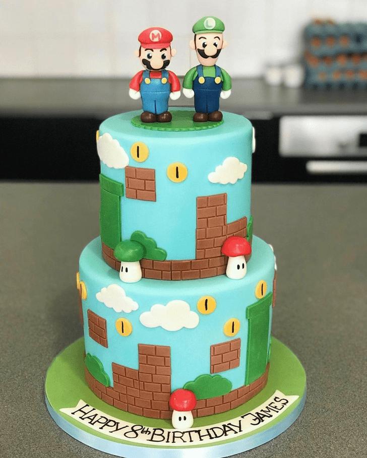 Exquisite Toad Cake