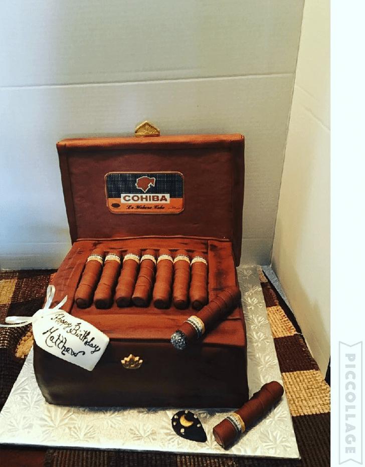 Charming Tobacco Cake