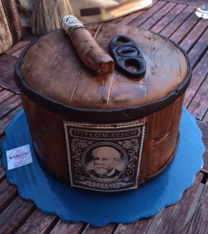 Classy Tobacco Cake