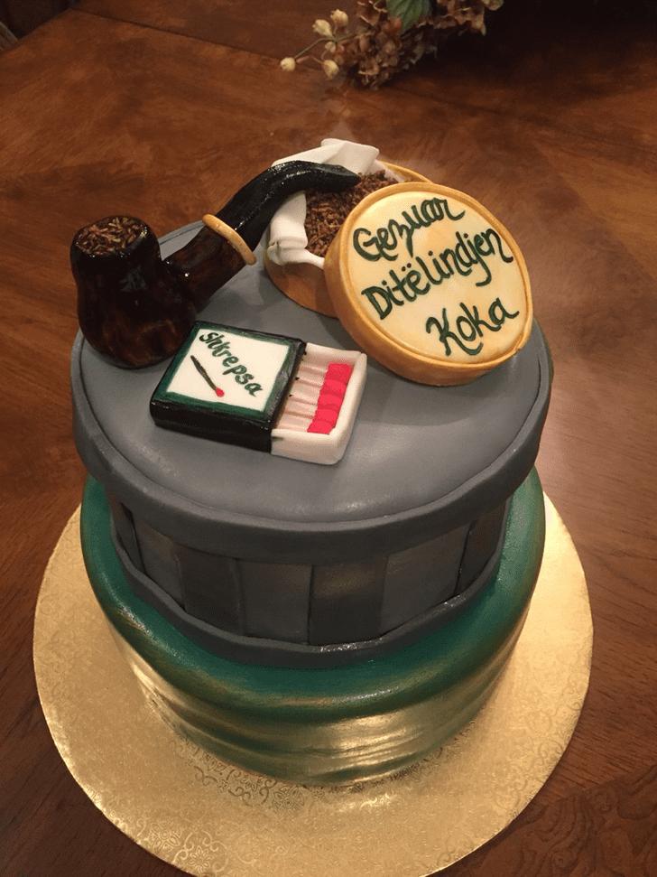 Cute Tobacco Cake