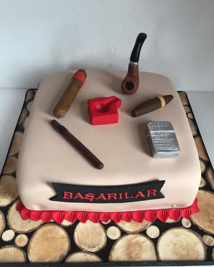 Dazzling Tobacco Cake