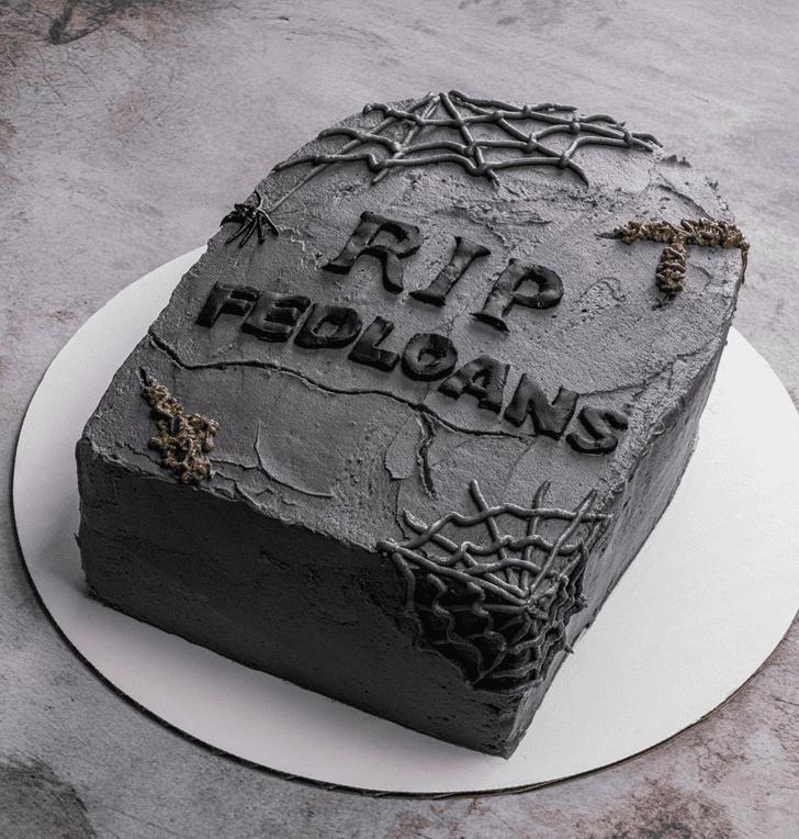 Captivating Tombstone Cake