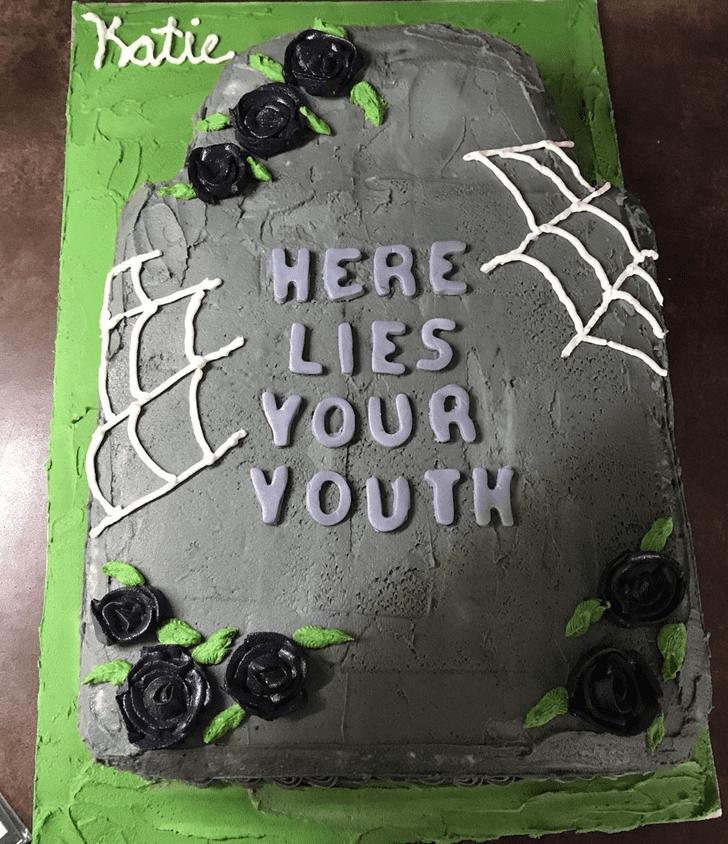 Classy Tombstone Cake