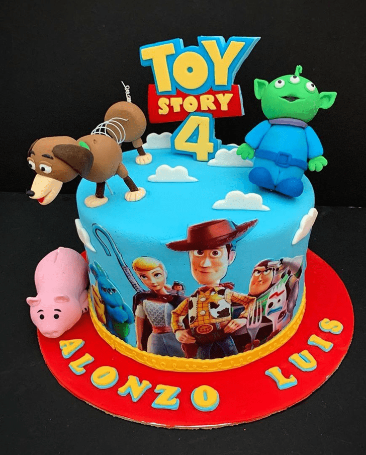 Admirable Toy Story Cake Design