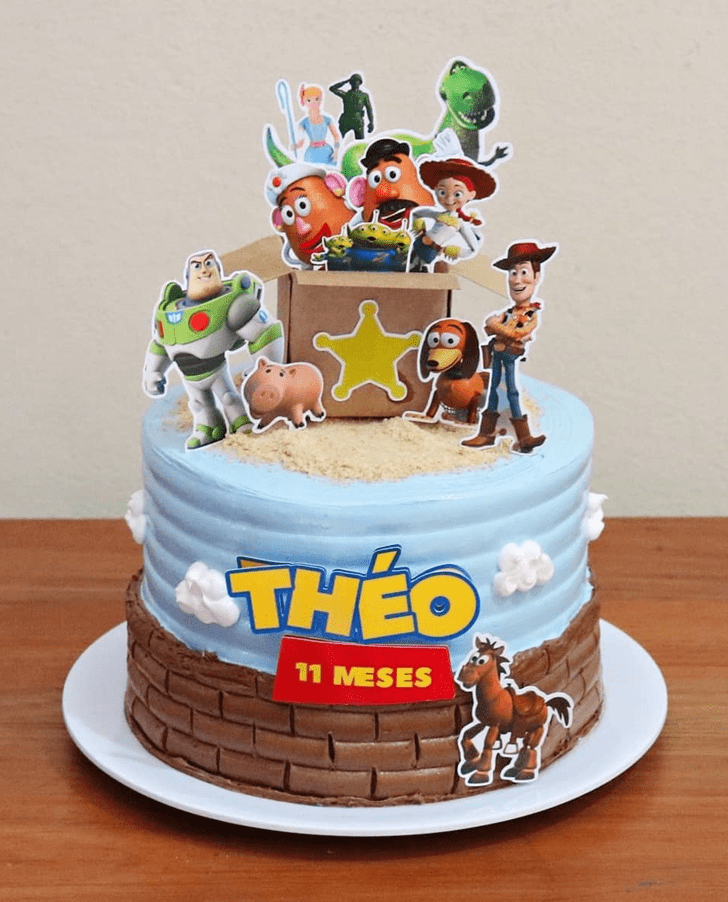 Adorable Toy Story Cake