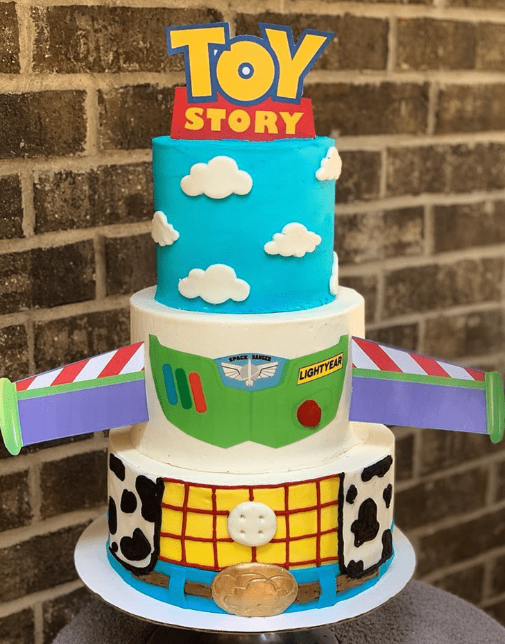 Alluring Toy Story Cake