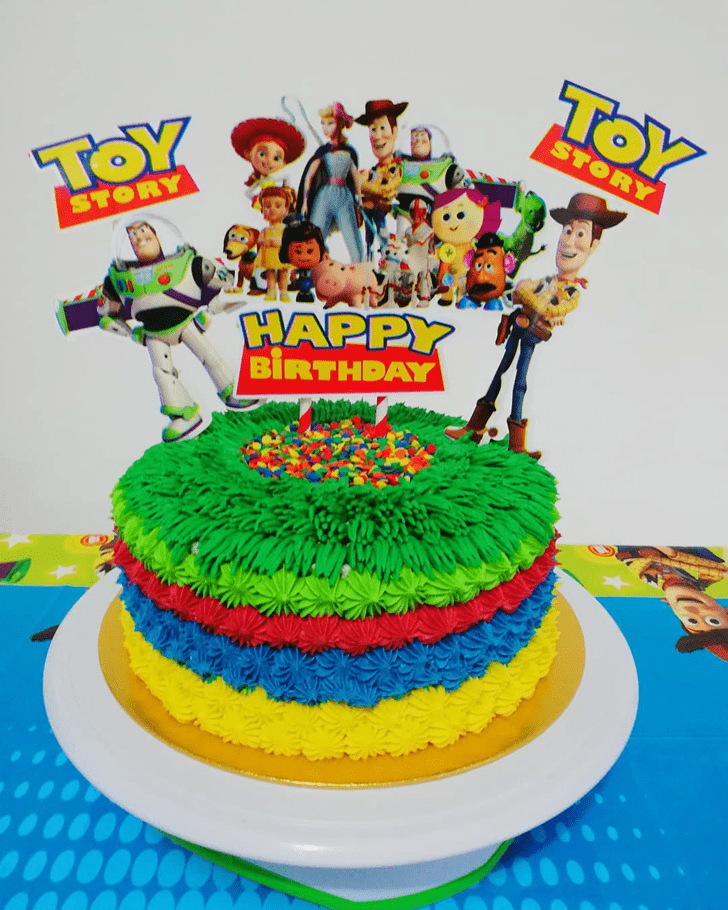 Appealing Toy Story Cake