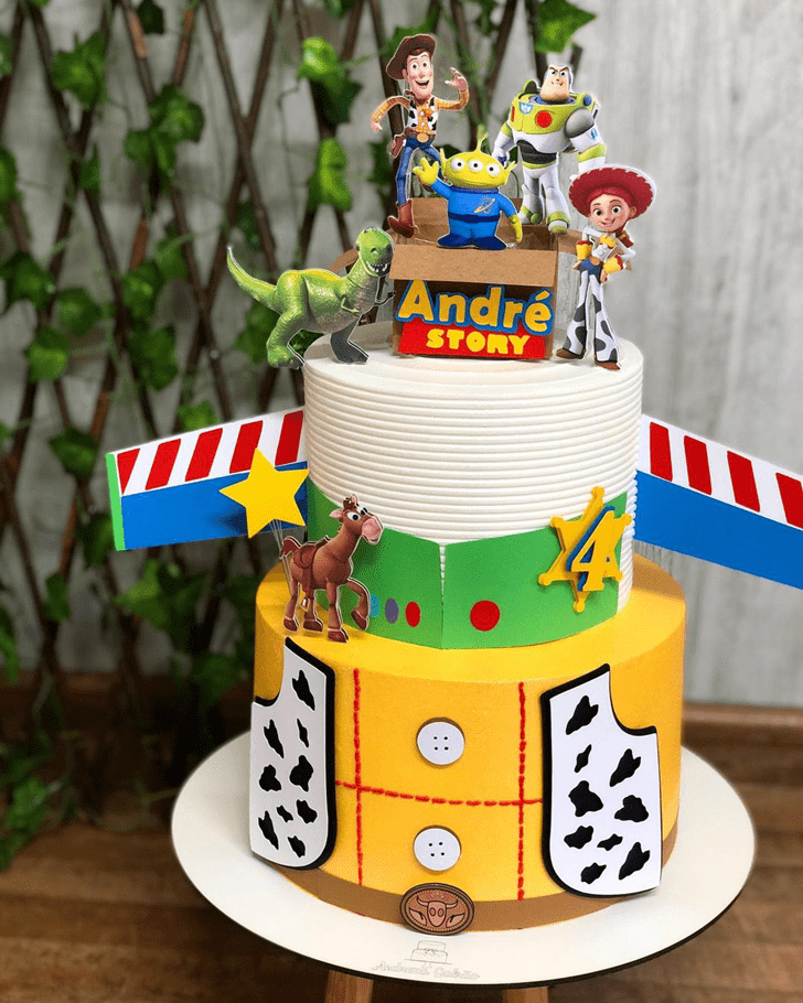 Beauteous Toy Story Cake