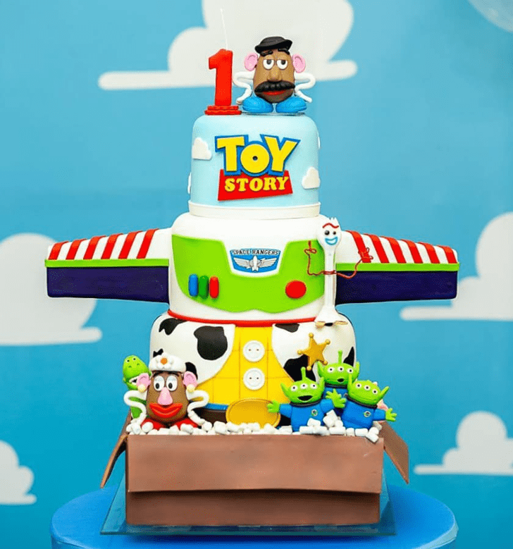 Bewitching Toy Story Cake