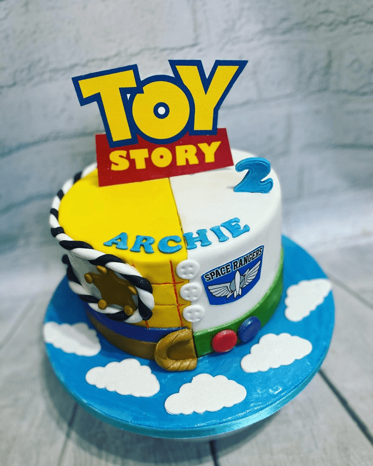 Dazzling Toy Story Cake