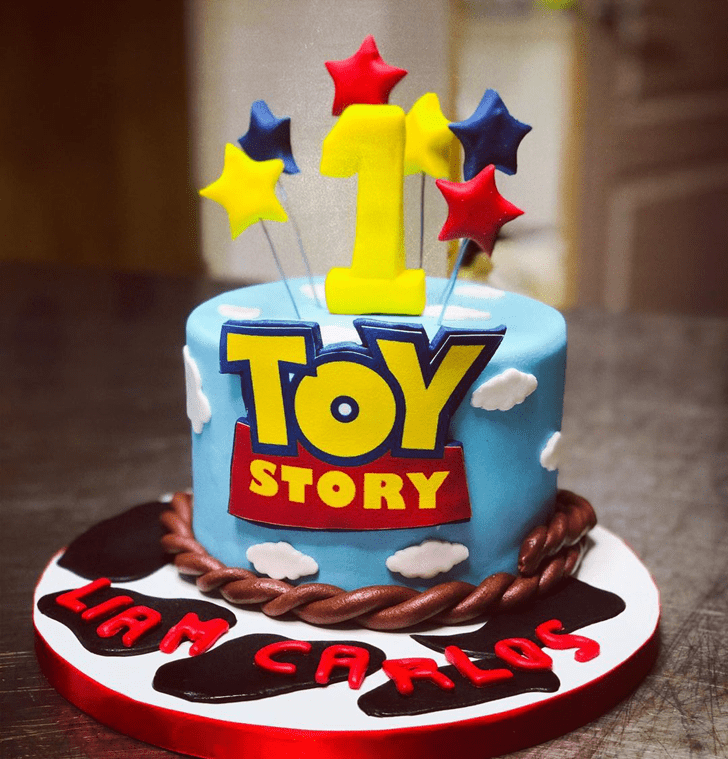 Enticing Toy Story Cake