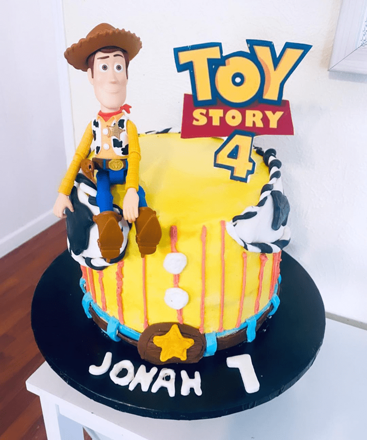 Excellent Toy Story Cake