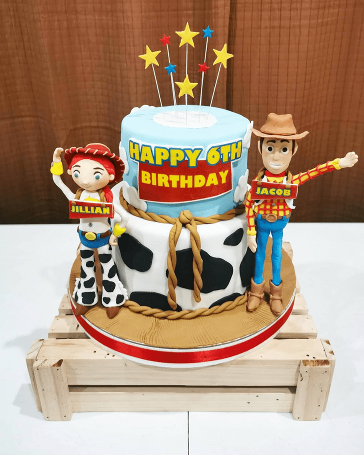 Exquisite Toy Story Cake